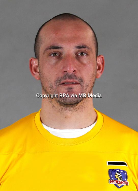 Chile Football League Serie A  /<br /> ( Club Social y Deportivo Colo-Colo ) - <br /> Eduardo Lobos