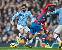 Ilkay Gundogan of Manchester City (L) in action - Mandatory by-line: Jack Phillips/JMP - 18/01/2020 - FOOTBALL - Etihad Stadium - Manchester, England - Manchester City v Crystal Palace - English Premier League