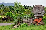 Sign in Chorro de Maita, Holguin, Cuba.