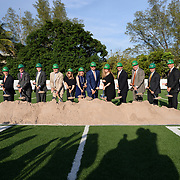Carol Soffer Indoor Practice Facility Groundbreaking
