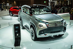 Mitsubishi GC-PHEV concept SUV plug-in hybrid electric at Tokyo Motor Show 2013 in Japan
