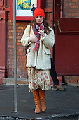 Collateral Beauty Film set actress Keira Knightley