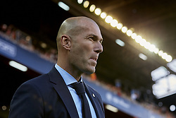 January 27, 2018 - Valencia, Valencia, Spain - Zinedine Zidane head coach of Real Madrid CF looks on prior to the La Liga game between Valencia CF and Real Madrid CF at Mestalla on January 27, 2018 in Valencia, Spainduring the La Liga game between Valencia CF and Real Madrid CF at Mestalla on January 27, 2018 in Valencia, Spain  (Credit Image: © David Aliaga/NurPhoto via ZUMA Press)