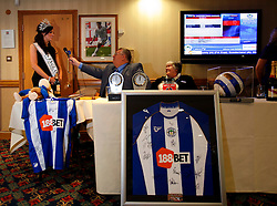UK ENGLAND WIGAN 9FEB10 - Miss England, Katrina Hodge (22) poses for photos after a football match at the Premier League club Wigan Athletics at the VIP section of the Wigan Football stadium. Katrina Hodge is on a week-long tour to promote the beauty pageant and careers at the armed forces in northern England...jre/Photo by Jiri Rezac..© Jiri Rezac 2010