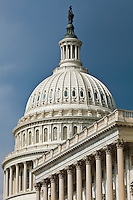 The United States Capitol building, Washington DC, USA.