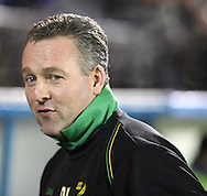 Carlisle - Saturday November 28th, 2009: Paul Lambert, manager of Norwich City during the FA Cup second round match at Brunton Park, Carlisle. (Pic by Andrew Stunell/Focus Images).