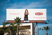 Billboard for Bona Fide Clothing & Lifestyle Apparel.