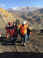 Turkey: Copper Mine collapses In Turkey's Siirt, 19 Nov. 2016
