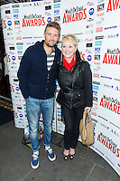 Ben Freeman and Cheryl Baker, WhatsOnStage Awards Nominations - launch party, Cafe De Paris, London UK, 06 December 2013, Photo by Raimondas Kazenas
