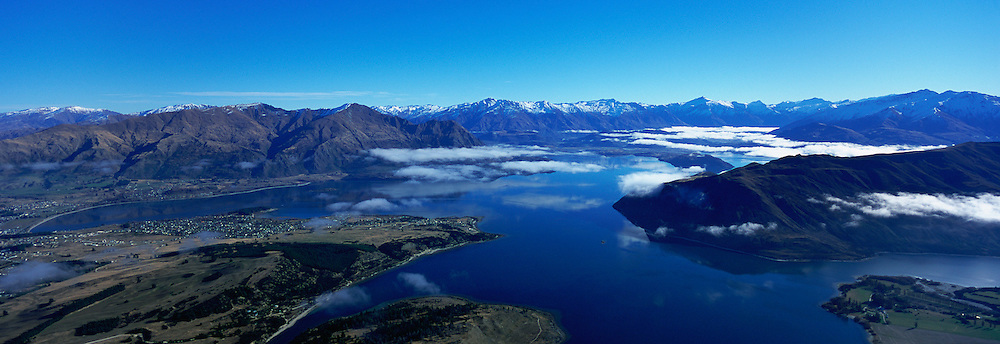 Lake Wanaka, South Island, New Zealand<br />