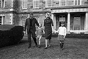 26/08/1963<br /> 08/26/1963<br /> 26 August 1963<br /> Royal Visit by Prince Rainier and Princess Grace of Monaco. Prince Rainier and Princess Grace and their two children, Prince Albert (5) and Princess Caroline (7) settling in at Carton House, Maynooth, Co. Kildare with a walk in the grounds as they start their holiday.
