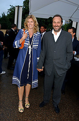 The HON.DAVID and MRS MACMILLAN, she was designer Arabella Pollen at the annual Serpentine Gallery Summer Party co-hosted by Jimmy Choo shoes held at the Serpentine Gallery, Kensington Gardens, London on 30th June 2005.<br /><br />NON EXCLUSIVE - WORLD RIGHTS