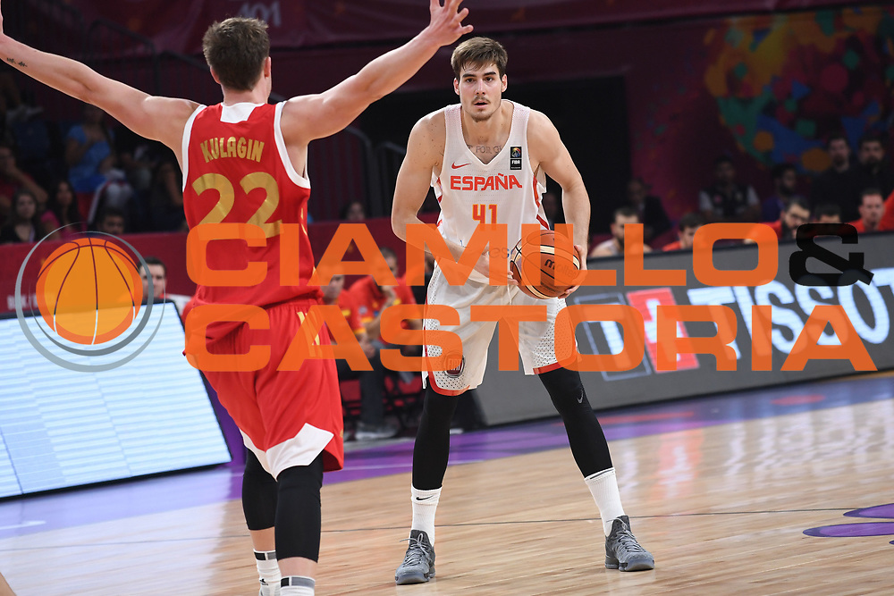 Juancho Hernangomez<br /> Eurobasket 2017 - Final Phase - Final 3rd 4th place<br /> Spagna Russia Spain Russia<br /> FIBA 2017<br /> Istanbul, 17/09/2017<br /> Foto M.Ceretti / Ciamillo - Castoria