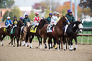 November 1-3, 2018: Breeders' Cup Horse Racing World Championships. Drayden Van Dyke and Improbable lead the field in the Street Sense stake race