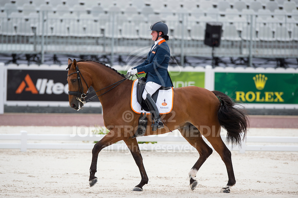 Sanne Voets, (NED), Vedet Pb - Individual Test Grade III Para Dressage - Alltech FEI World Equestrian Games&trade; 2014 - Normandy, France.<br /> &copy; Hippo Foto Team - Jon Stroud <br /> 25/06/14