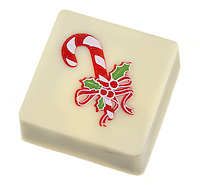 jacques torres peppermint bon bon chocolate square