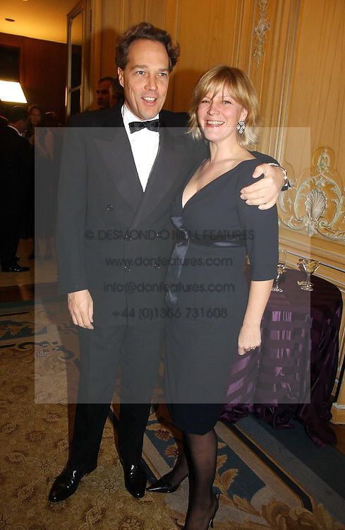 The EARL & COUNTESS OF MARCH at the Cartier Racing Awards 2006 held at the Four Seasons Hotel, Hamilton Place, London on 15th November 2006.<br /><br />NON EXCLUSIVE - WORLD RIGHTS
