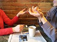 CANADA, Windsor: Exchange of Coffee