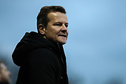 Forest Green Rovers manager, Mark Cooper during the EFL Sky Bet League 2 match between Forest Green Rovers and Yeovil Town at the New Lawn, Forest Green, United Kingdom on 16 February 2019.