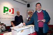 Ignazio Marino votes for PD primary