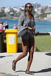 EXCLUSIVE: Venus Williams strikes a pose and snaps some pics at Bondi Beach. Venus is in Sydney to play the Sydney International, before the Australian Open tournament starts in Melbourne. 06 Jan 2018 Pictured: Venus Williams. Photo credit: KHAPGG / MEGA TheMegaAgency.com +1 888 505 6342