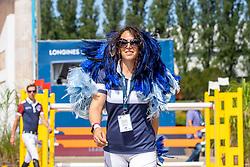 G. WALDMAN, Dani (ISR)<br /> Berlin - Global Jumping Berlin 2019<br /> Parcoursbesichtigung<br /> CSI5* - GCT Team-Wettbewerb<br /> 2. Runde; <br /> Qualifikation LGCT; <br /> Springprüfung nach Fehlern und Zeit für Teams und Einzelreiter, international<br /> 27. Juli 2019<br /> © www.sportfotos-lafrentz.de/Stefan Lafrentz