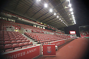 Bet365 Stadium during the The FA Cup 3rd round replay match between Stoke City and Shrewsbury Town at the Bet365 Stadium, Stoke-on-Trent, England on 15 January 2019.