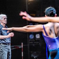 Nederland, Amsterdam, 12 september 2016.<br />In september 2016 wordt choreograaf en ontwerper Toer van Schayktachtig jaar. Om dat te vieren danst Het Nationale Ballet een hommageprogramma met twee balletten van Toer van Schayk en balletten van Rudi van Dantzig en Hans van Manen.<br /><br /><br /><br />Foto: Jean-Pierre Jans