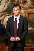 2013/05/03 Roma,  giuramento dei viceministri e dei sottosegretari. Nella foto Stefano Fassina..Rome, oath of deputy ministers and undersecretaries. In the picture Stefano Fassina - © PIERPAOLO SCAVUZZO