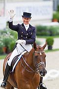 Tinne Vilhelmson Silfven - Favourit<br /> World Equestrian Festival CHIO Aachen 2011<br /> © DigiShots