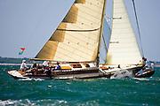Kestrel racing in the Opera House Cup regatta.