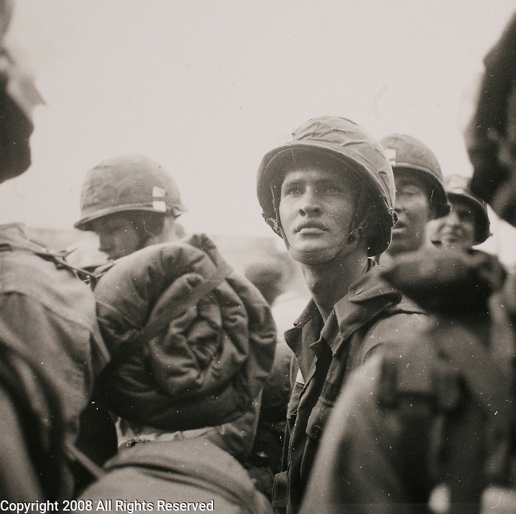 Arrival of the U.S. 1st Cavalry Division (Airmobile) in Vietnam. The 15,800 men and 424 helicopters and planes disembarked from troopships and carriers at Qui Nhon and then immediately moved inland by air and convoy to their assigned tactical operations area at An Khe.