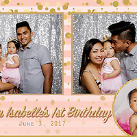 Siena's 1st Birthday PhotoBooth