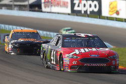 August 5, 2018 - Watkins Glen, New York, United States of America - Kurt Busch (41) brings his car through the turns during the Go Bowling at The Glen at Watkins Glen International in Watkins Glen , New York. (Credit Image: © Chris Owens Asp Inc/ASP via ZUMA Wire)