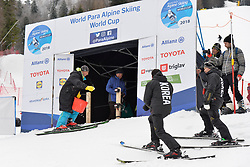 Behind the scenes at 2018 World Para Alpine Skiing Cup, Kranjska Gora, Slovenia