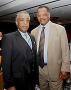 ATLANTA, GA - MAY 14:  Reverends Al Sharpton (left) and Jesse Jackson attend the MLB Beacon Awards Banquet at the Omni Hotel on May 14, 2011 in Atlanta, Georgia.  (Photo by Mike Zarrilli/Getty Images)