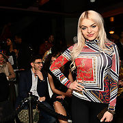 Gabriella Melrose is a model attend the Luxury Fashion Networking hosts at IC Show with X Factor Singers Fashio9n Show ahead of LFW Winter 2019 with amazing crowded at the heart of Soho, London, UK. 11 Feb 2019.