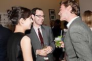 TATIANA ZHEREBKINA; JOSH SPERO; JONATHAN SEALEY, Spear's Design for Living Awards, Berkeley Square. 18 May 2011:<br /> <br />  , -DO NOT ARCHIVE-© Copyright Photograph by Dafydd Jones. 248 Clapham Rd. London SW9 0PZ. Tel 0207 820 0771. www.dafjones.com.