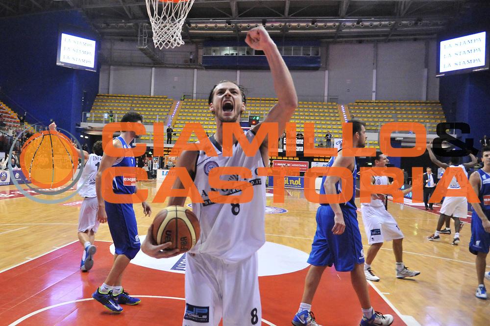 DESCRIZIONE : Biella LNP DNA Adecco Gold 2013-14 Angelico Biella Expert Napoli<br /> GIOCATORE : Tommaso Raspino<br /> CATEGORIA : Esultanza<br /> SQUADRA : Angelico Biella<br /> EVENTO : Campionato LNP DNA Adecco Gold 2013-14<br /> GARA : Angelico Biella Expert Napoli<br /> DATA : 27/10/2013<br /> SPORT : Pallacanestro<br /> AUTORE : Agenzia Ciamillo-Castoria/Max.Ceretti<br /> Galleria : LNP DNA Adecco Gold 2013-2014<br /> Fotonotizia : Biella LNP DNA Adecco Gold 2013-14 Angelico Biella Expert Napoli<br /> Predefinita :
