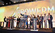 Dec 20, 2018; San Antonio, TX, USA; ESPN broadcaster John Anderson emcees  the 10th Bowerman Awards at the JW Marriott San Antonio Hill Country Resort & Spa.