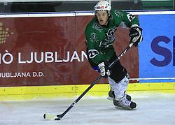 Anze Ropret at ice hockey match between Toja Olimpija and Stavbar Maribor,  on November 19, 2008 in Arena Tivoli, Ljubljana, Slovenia. Stavbar Maribor won the match 3:2.  (Photo by Vid Ponikvar / Sportida)