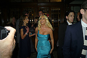 DONATELLA VERSACE, Vogue's Celebration of Fashion Dinner in association with Creme de la Mer. the Albermarle, Browns Hotel. Albermarle st. London. 18 September 2008. *** Local Caption *** -DO NOT ARCHIVE-© Copyright Photograph by Dafydd Jones. 248 Clapham Rd. London SW9 0PZ. Tel 0207 820 0771. www.dafjones.com.