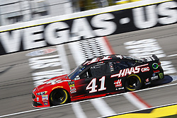March 2, 2018 - Las Vegas, Nevada, United States of America - March 02, 2018 - Las Vegas, Nevada, USA: Kurt Busch (41) brings his race car down the front stretch during practice for the Pennzoil 400 at Las Vegas Motor Speedway in Las Vegas, Nevada. (Credit Image: © Chris Owens Asp Inc/ASP via ZUMA Wire)