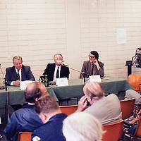 Forum with German Manufacturer technical directors (taking part as Audi engineering director was Ferdinand Piëch), Hockenheim test day, pre IAA Frankfurt Motor Show 1981