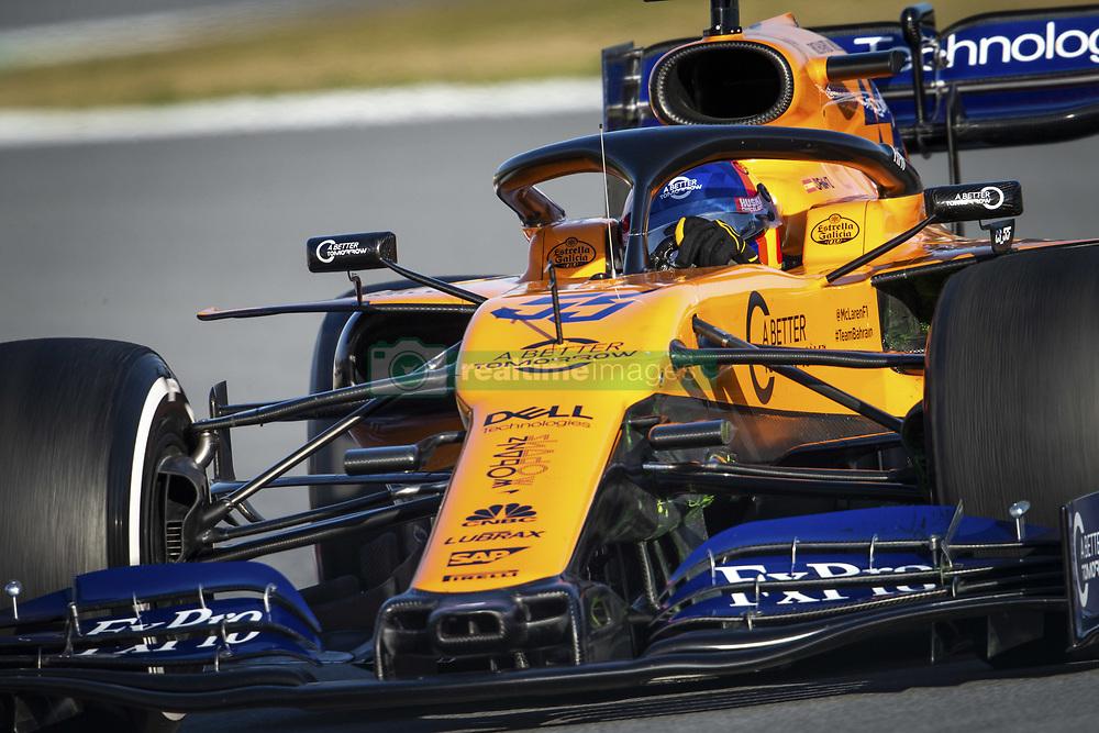 February 18, 2019 - Barcelona, Spain - 55 SAINZ Carlos (spa), McLaren Renault F1 MCL34, action during Formula 1 winter tests from February 18 to 21, 2019 at Barcelona, Spain - Photo Motorsports: FIA Formula One World Championship 2019, Test in Barcelona, (Credit Image: © Hoch Zwei via ZUMA Wire)