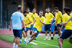 Luka Zinko of NK Domzale during practice session before football match between NK Domzale and FC Lusitanos Andorra in second leg of UEFA Europa league qualifications on July 6, 2016 in Andorra la Vella, Andorra. Photo by Ziga Zupan / Sportida