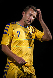 28.05.2012, Kufstein Arena, Kufstein, AUT, UEFA EURO 2012, Testspiel, Ukraine vs Estland, im Bild Andriy Shevchenko, (UKR, # 07) // Andriy Shevchenko, (UKR, # 07) during the Preparation Game for the UEFA Euro 2012 betweeen Ukraine and Estonia at the Kufstein Arena, Kufstein, Austria on 2012/05/28. EXPA Pictures © 2012, PhotoCredit: EXPA/ Juergen Feichter