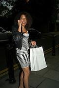 JUSTINE WOOD, Biondi Party (55b Old Church Street, Chelsea, London London. 15 May 2008.  *** Local Caption *** -DO NOT ARCHIVE-© Copyright Photograph by Dafydd Jones. 248 Clapham Rd. London SW9 0PZ. Tel 0207 820 0771. www.dafjones.com.