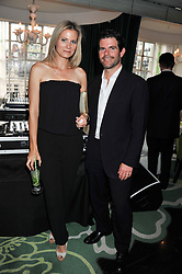 MAX & JANE GOTTSCHALK at a party to celebrate the launch of Jax Coco - a new soft drink, held at Harvey Nichols 5th Floor Bar, 109-125 Knightsbridge, London on 25th June 2012.