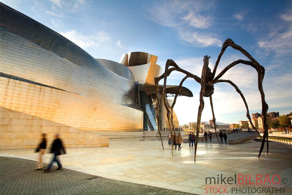 Guggenheim Museum of Art.<br /> Bilbao, Biscay, Basque Country, Spain